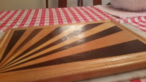 Beeswaxed cutting board