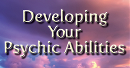 Cover for the course, Developing Your Psychic Abilities.